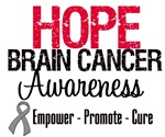 Hope Brain Cancer Awareness Shirts & Gifts