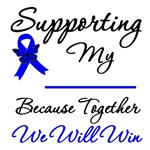 Colon Cancer Supportive T-Shirts & Gifts
