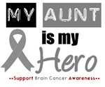 Brain Cancer Hero (Aunt) T-Shirts & Gifts