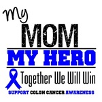 Colon Cancer Hero Mom Shirts & Gifts