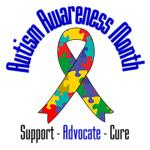 Autism Awareness Month Ribbon Tees & Gifts