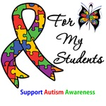 Autism Support Students Shirts & Gifts