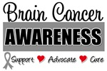 Brain Cancer Awareness Tee Shirts & Gifts