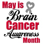 May is Brain Cancer Awareness Month T-Shirts