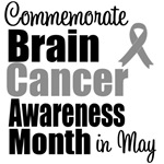 Commemorate Brain Cancer T-Shirts & Gifts