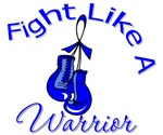 Fight Like A Warrior Colon Cancer Shirts