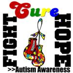 Fight Hope Cure Autism Shirts and Gift Ideas