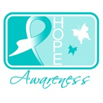 Cervical Cancer Hope Ribbon