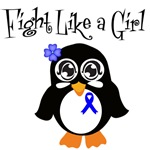 Anal Cancer Fight Like A Girl Shirts and Gifts