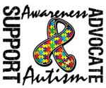 Autism Support Ribbon