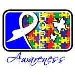 Autism Awareness Tile