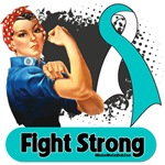 Cervical Cancer Fight Strong Rosie The Riveter