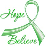 TBI Hope Believe Ribbon