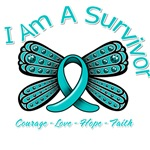 Ovarian Cancer I Am A Survivor Shirts