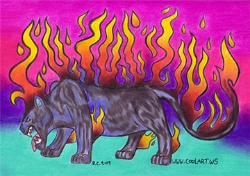 Flaming Panther