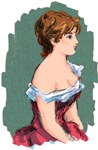 Woman with Corset