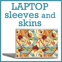 Just skins and neoprene cases for laptops.