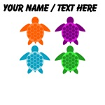 Custom Sea Turtle Pop Art