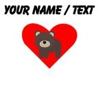 Cartoon Bear Heart