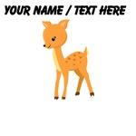 Custom Cartoon Baby Deer