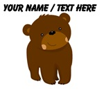 Custom Cartoon Baby Bear
