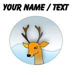 Custom Cartoon Deer