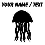 Custom Black Jellyfish