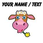 Custom Cartoon Cow