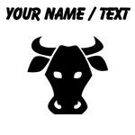 Custom Bull Face