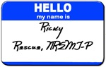EMS Conference ID - Ricky Rescue, NREMT-P