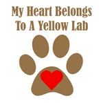 My Heart Belongs To A Yellow Lab