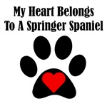 My Heart Belongs To A Springer Spaniel