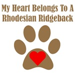My Heart Belongs To A Rhodesian Ridgeback
