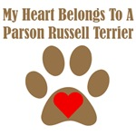 My Heart Belongs To A Parson Russell Terrier