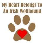 My Heart Belongs To An Irish Wolfhound