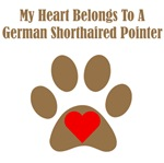 My Heart Belongs To A German Shorthaired Pointer