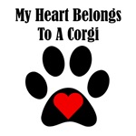 My Heart Belongs To A Corgi