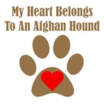 My Heart Belongs To An Afghan Hound