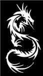 White Dragon Tattoo