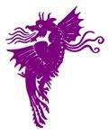 Purple Flying Dragon