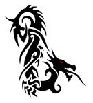 Black Red Eyed Dragon