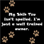 Well Trained Shih Tzu Owner