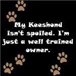 Well Trained Keeshond Owner