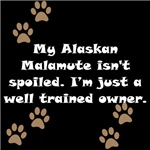 Well Trained Alaskan Malamute Owner
