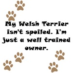 Well Trained Welsh Terrier Owner