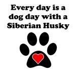 Siberian Husky Dog Day