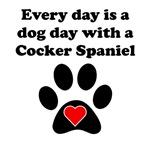 Cocker Spaniel Dog Day