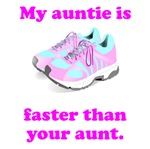 My Auntie Is Faster