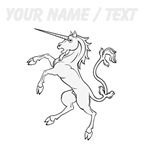 Custom Unicorn Statue