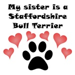 My Sister Is A Staffordshire Bull Terrier